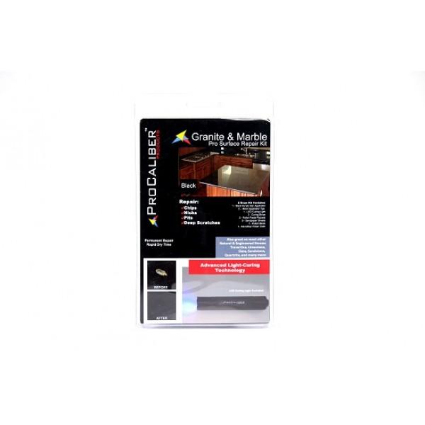 Granite Amp Marble Chip Repair Kit Pro Black Gel Lca